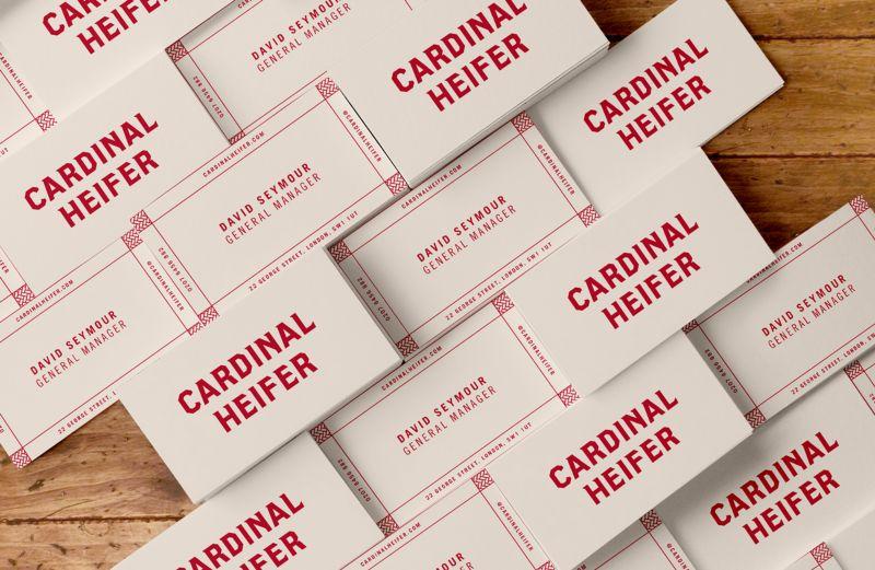 Cardinal Heifer