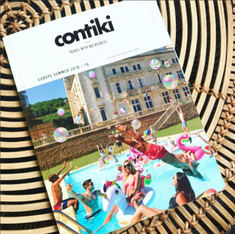 Contiki Europe Summer 18/19 Brochure