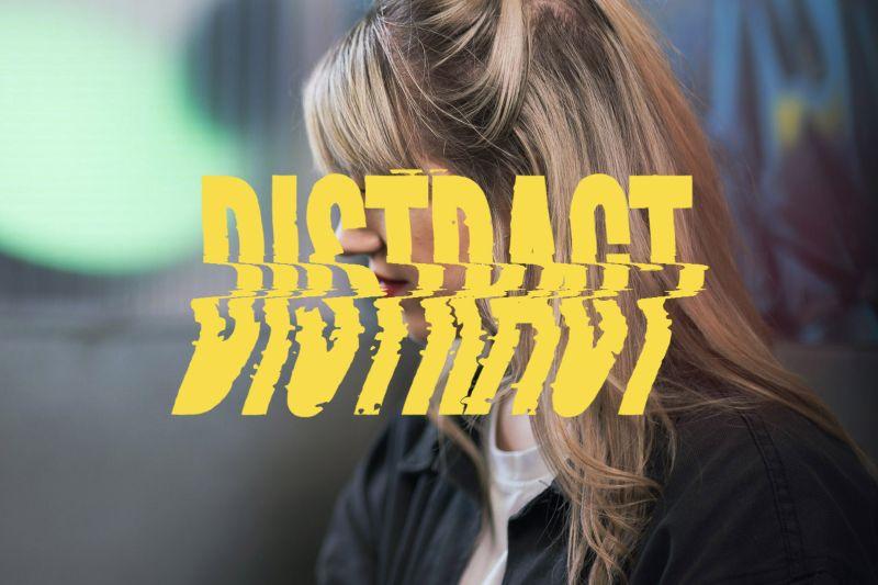 Distract TV Branding & Identity