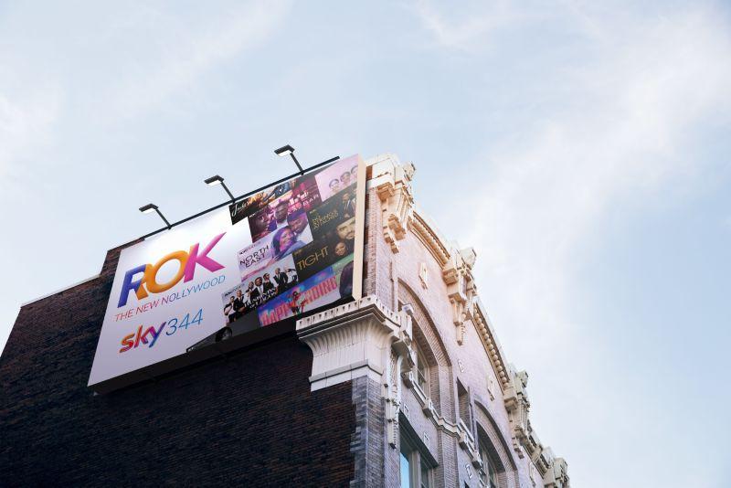 ROK on Sky Billboards