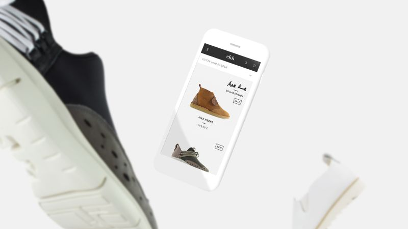 EKN FOOTWEAR – Brand Identity & E-Commerce