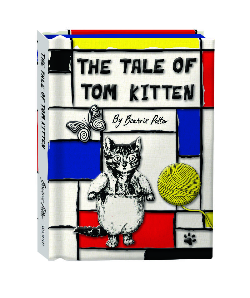 The Tale of Tom Kitten – Book Design