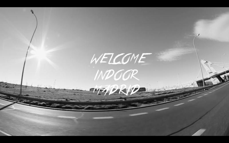 'Welcome' Vans Indoor Madrid