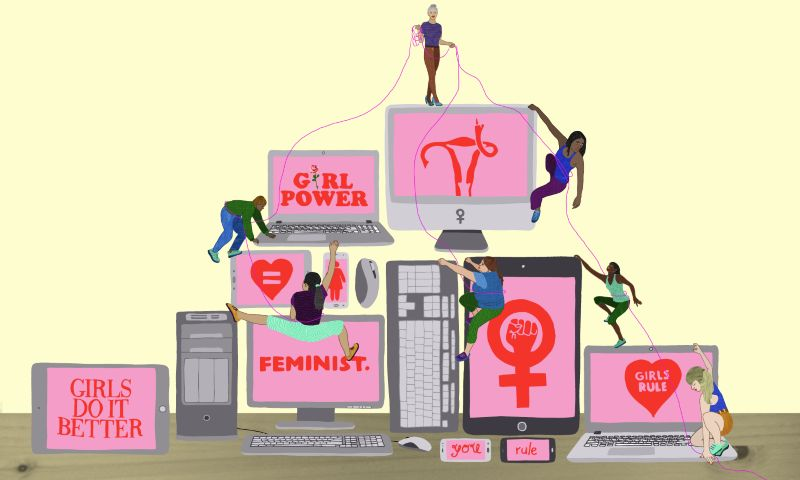 Did the internet create a generation of feminists?