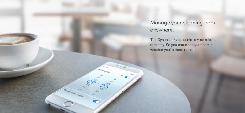 Dyson 360 Eye App