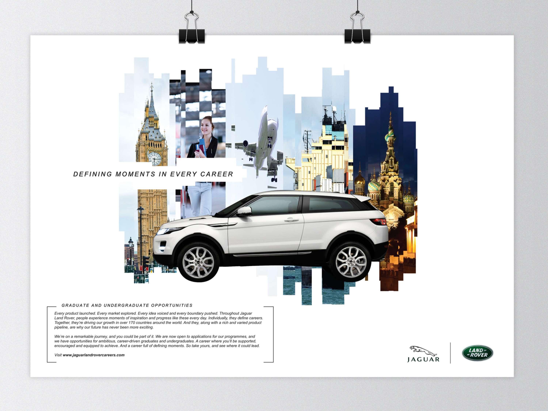 Jaguar Land Rover Graduate Recruitt Campaign 'Mots' | The Dots
