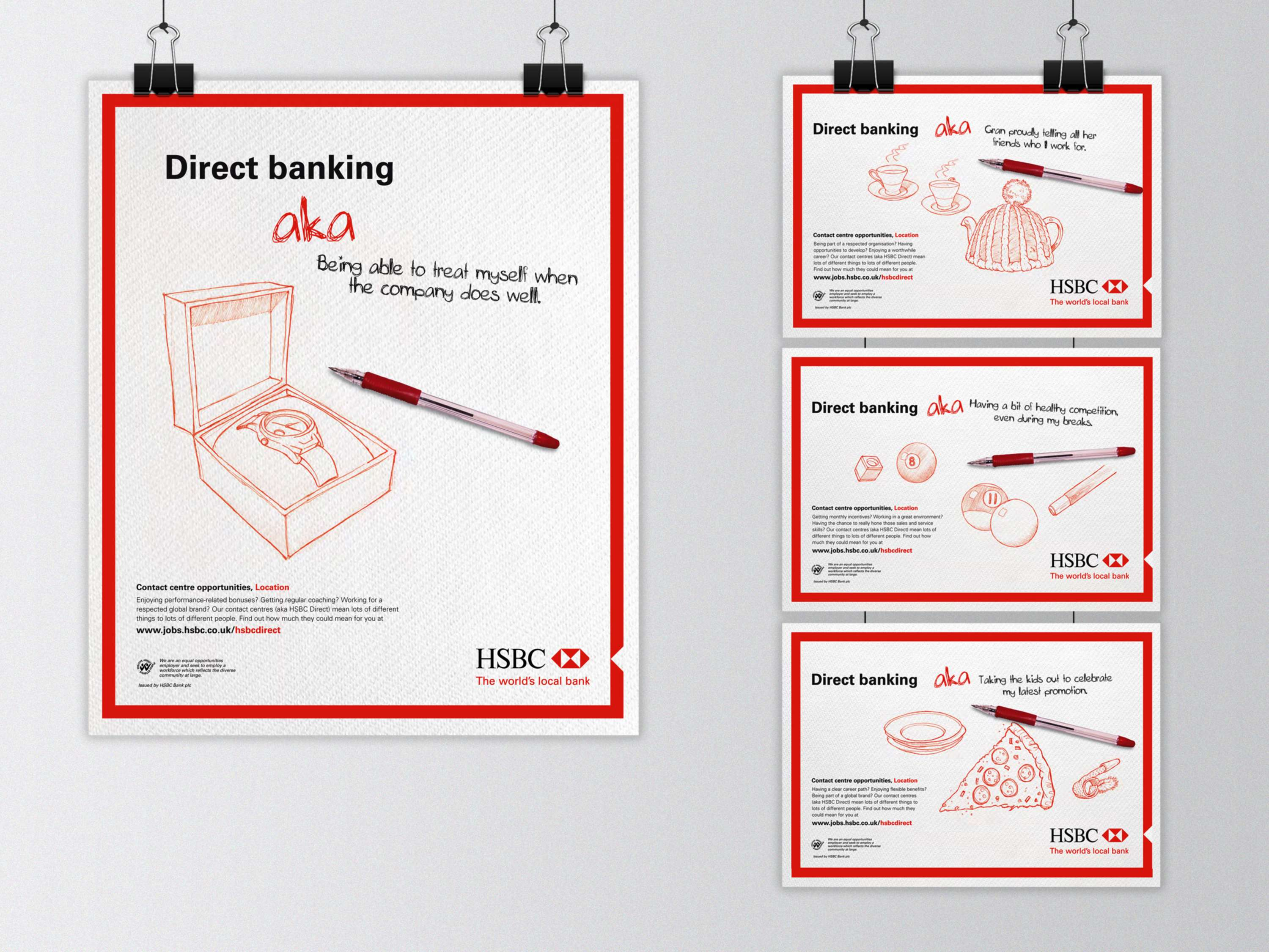 HSBC Integrated Campaign 'Direct Banking AKA   ' | The Dots