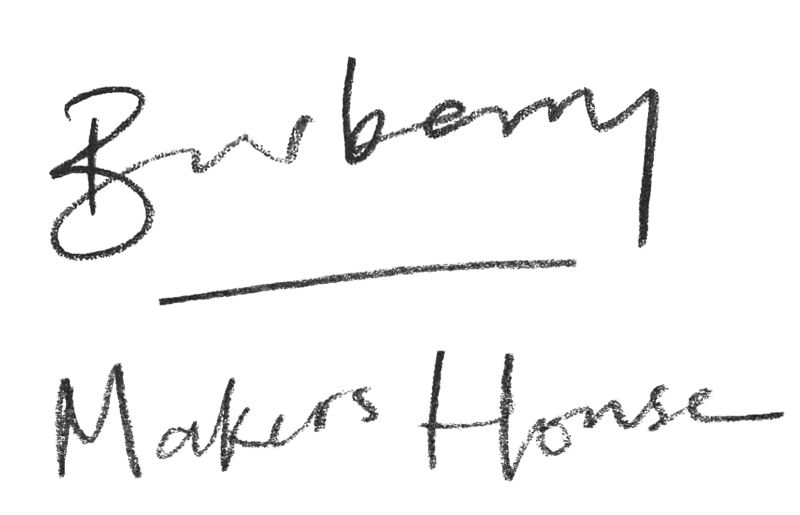 Makers House Burberry