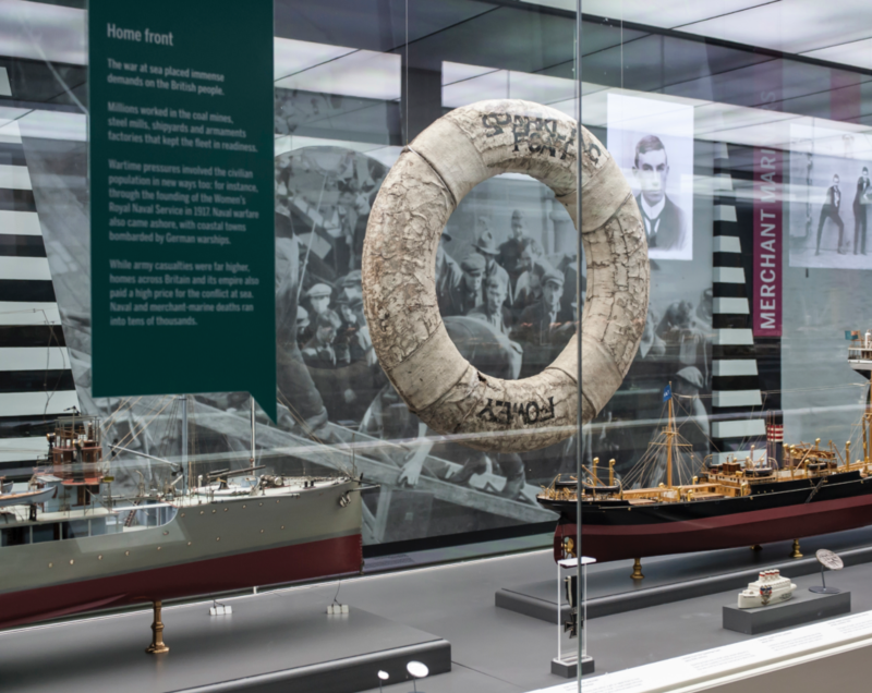 Forgotten Fighters: WW1 at Sea at the National Maritime Museum