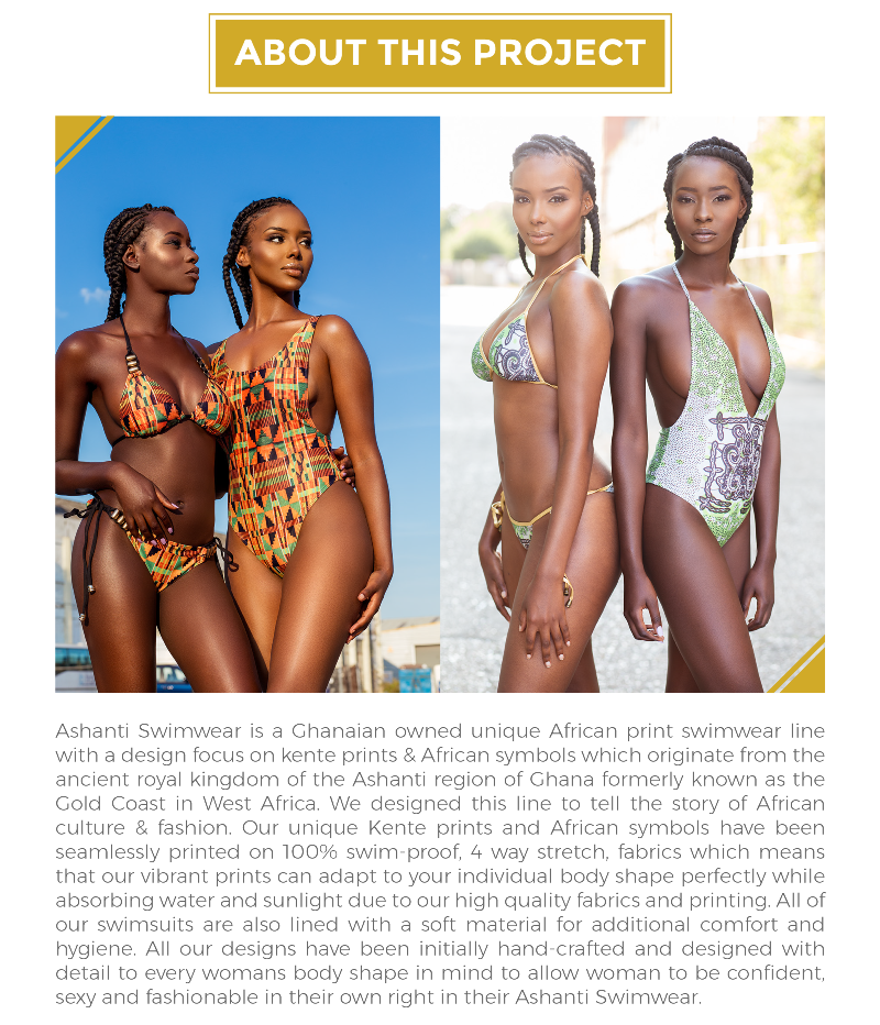 Ashanti Swimwear Campaign
