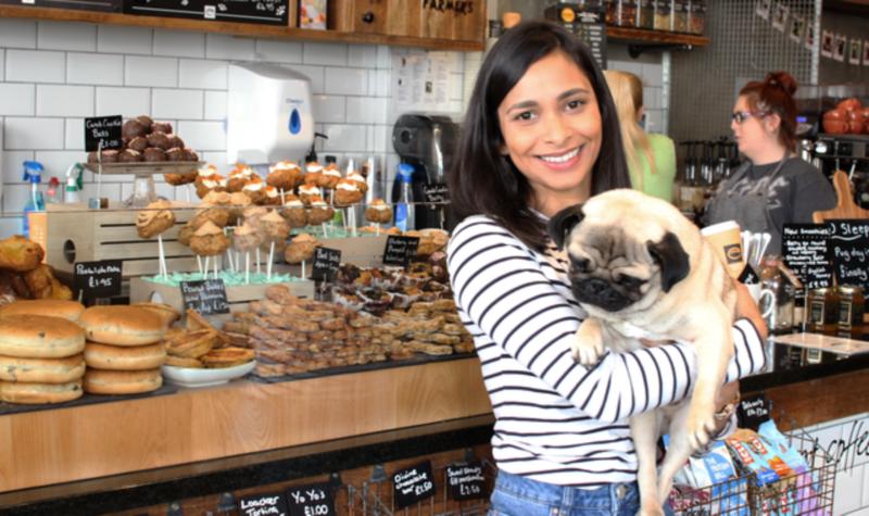 Pop Up Pug Cafe