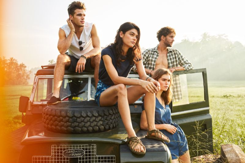 Jack Wills Summer 2017 Brand Creative Campaign