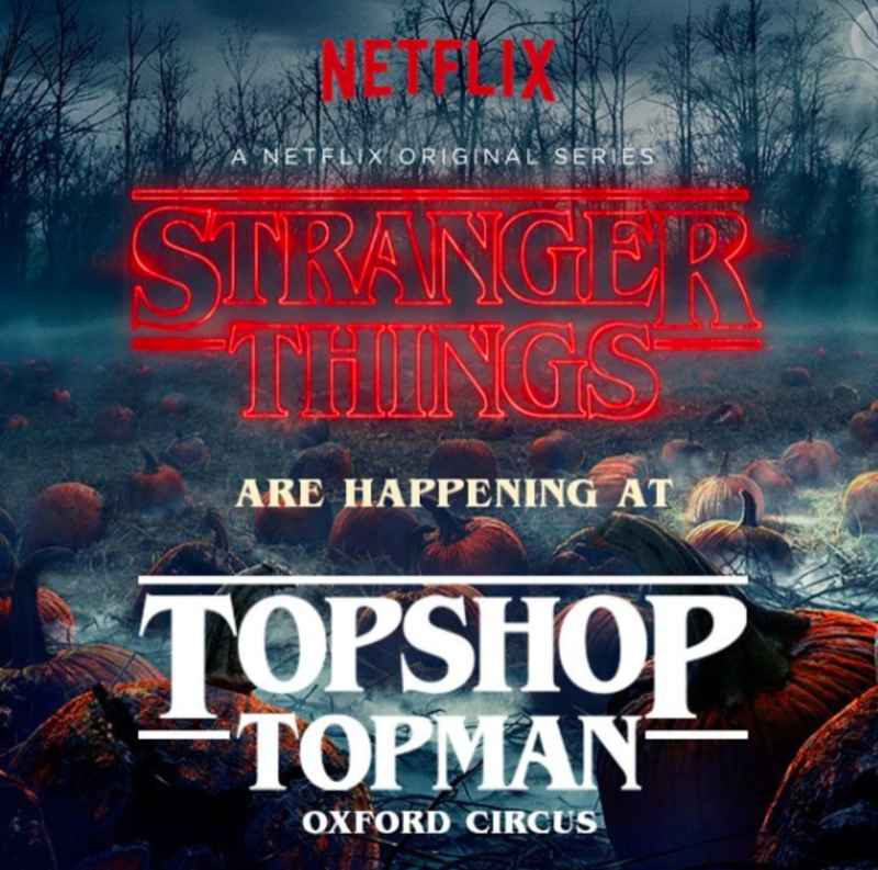 TOPSHOP TOPMAN X STRANGER THINGS 2