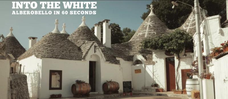 Into the White // Alberobello in 60 seconds
