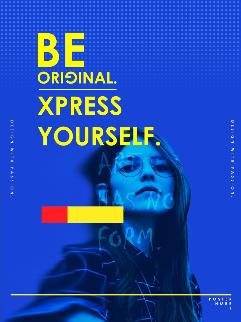 Xpress Yourself Poster