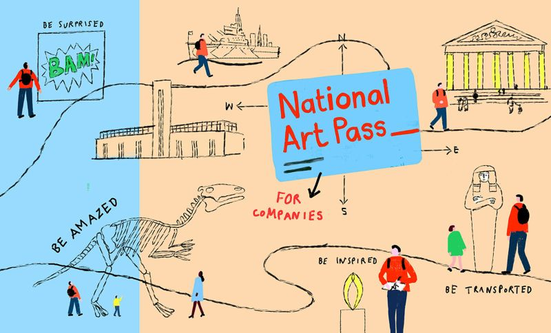 National Art Pass for Companies