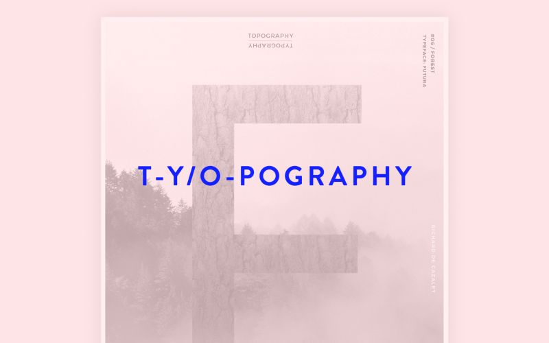 T-y/o-pography
