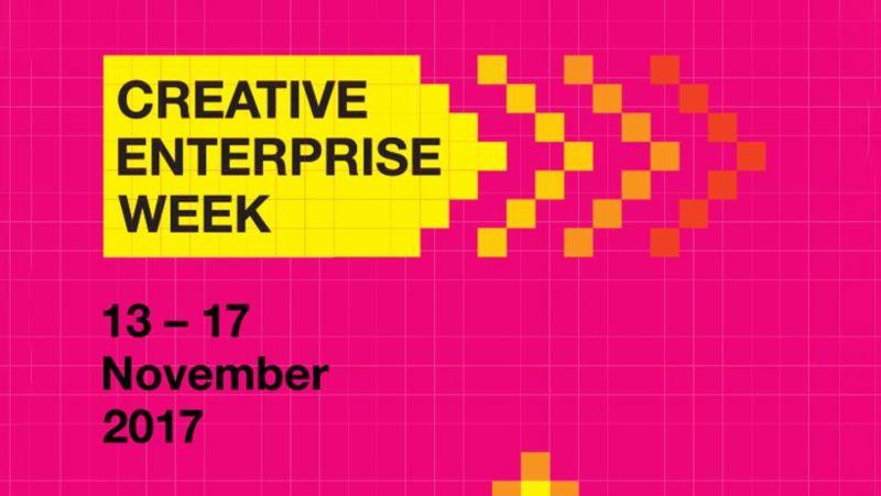 Creative Enterprise Week  13 – 17 November 2017