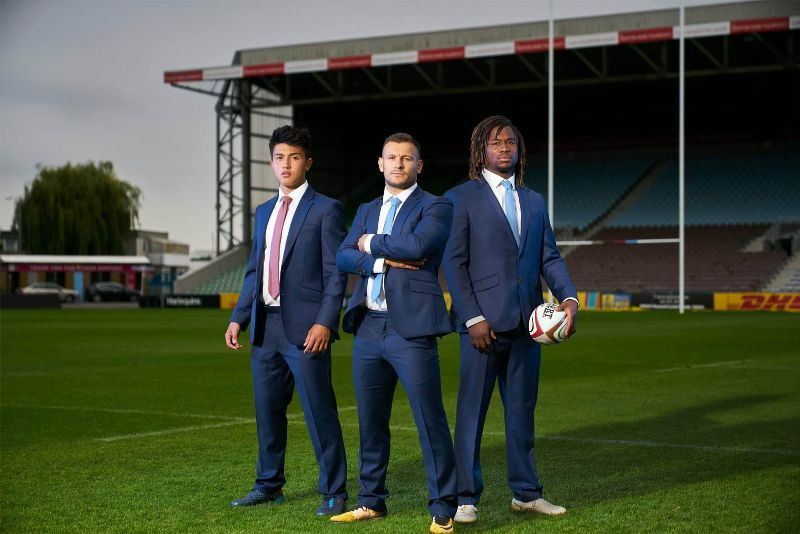 TM Lewin x Harlequins RFC x Infinity Suits
