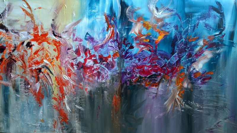 Colourful Abstract Paintings