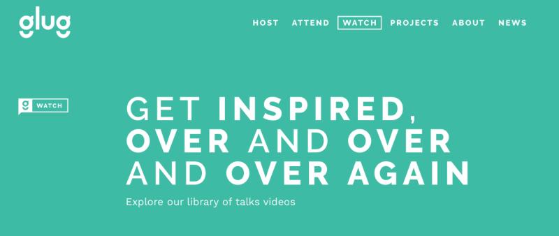 Glug Gallery –Stay inspired