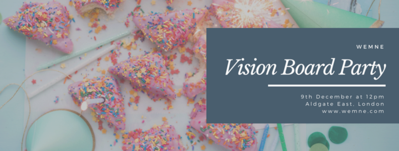 WEMNE Vision Board Party - buy tickets here