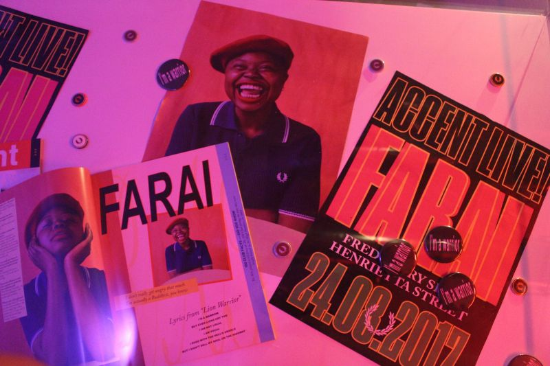 Accent Live! presents Farai (in collaboration with Fred Perry)