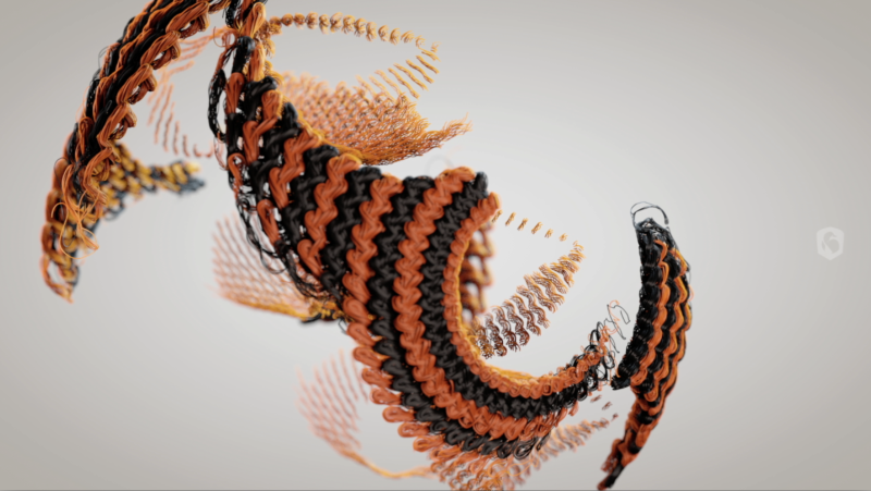Nike Knitting with Sound Design