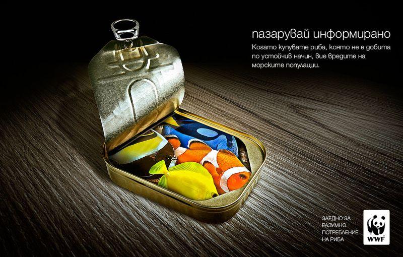 WWF advertising