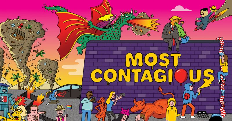 Most Contagious 2017 | WEDS 6 DEC | LONDON | 15% DISCOUNT FOR THE DOTS MEMBERS