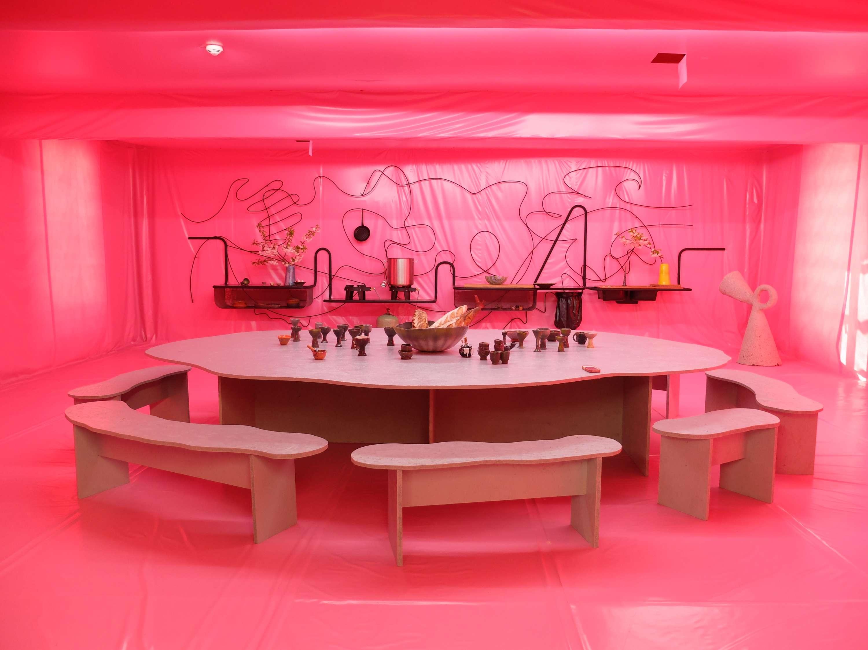 Kitty S Kitchen Inside Lucky Larry S Cosmic Commune Design