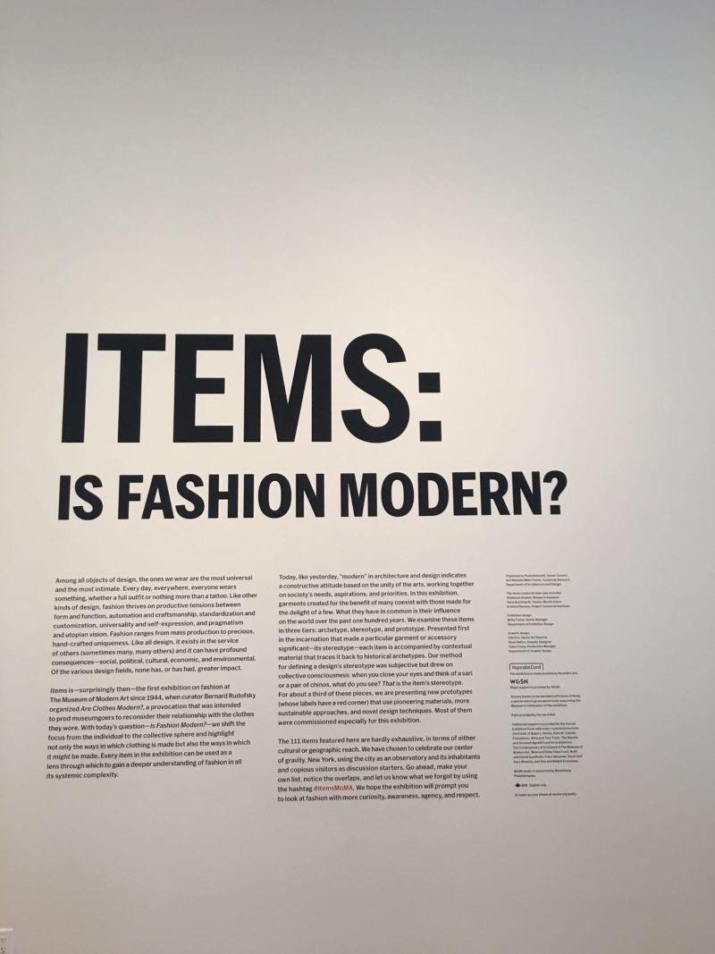 Museum of Modern Art | Items: Is Fashion Modern?