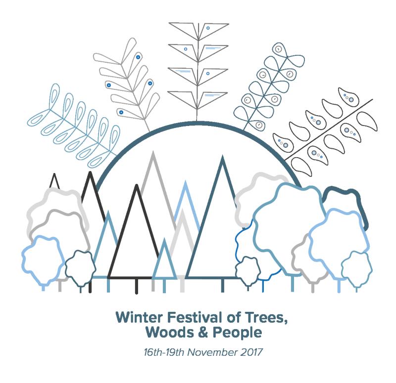 Sylva Foundation Winter Festival Identity