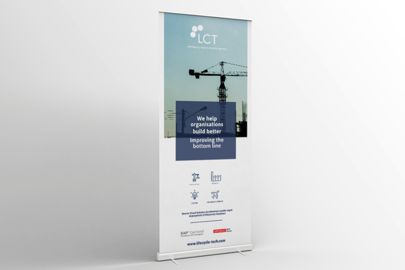 Lifecycle Technology Roller Banner
