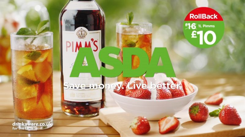 ASDA - Summer Value (UK - TVC) (4 x 10secs)
