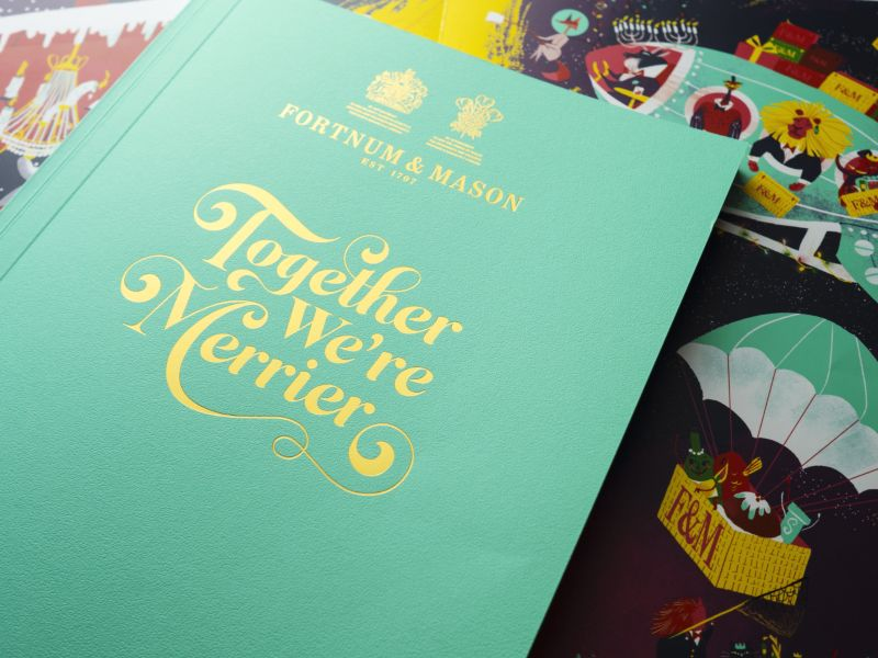Together We're Merrier: Fortnum & Mason Christmas Campaign