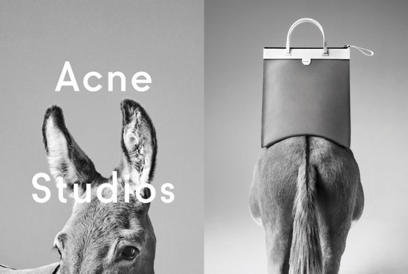 Acne Studios – bag launch A/W 2015