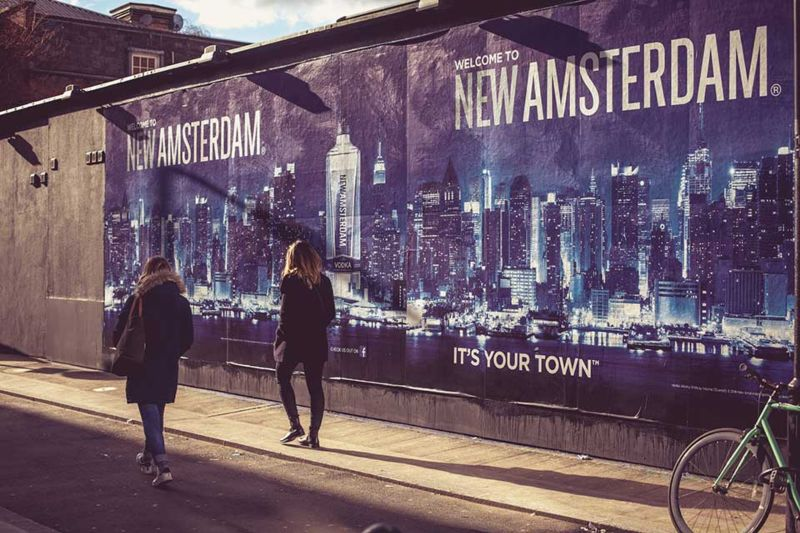 NEW AMSTERDAM VODKA | IT'S YOUR TOWN
