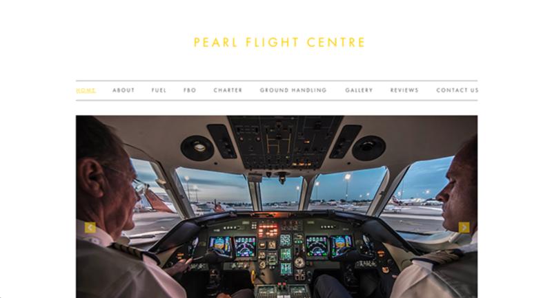 Website for Pearl Flight Centre