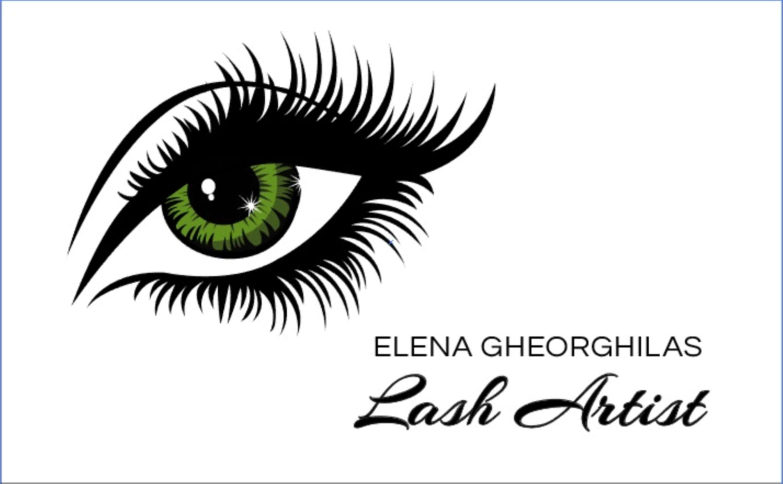 Lash artist (business card) | The Dots
