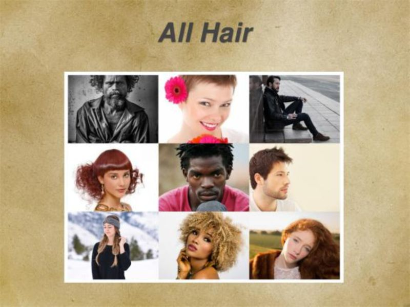 Poetry - All Hair