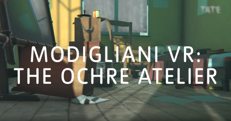 Modigliani VR: The Ochre Atelier behind-the-scenes | Producer/Director