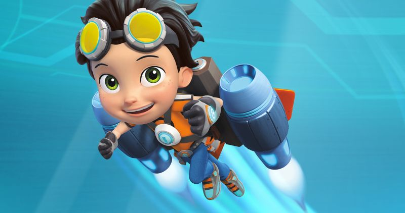 Nickelodeon - Rusty Rivets Core Style Guide