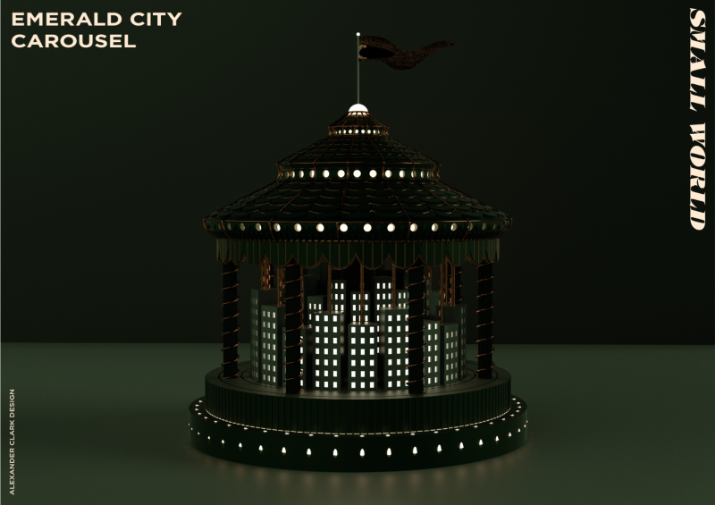 Small Worlds | Emerald City Carousel