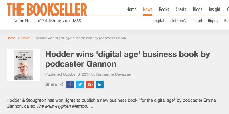 The Multi-Hyphen Method - A New Digital-Age Business Book