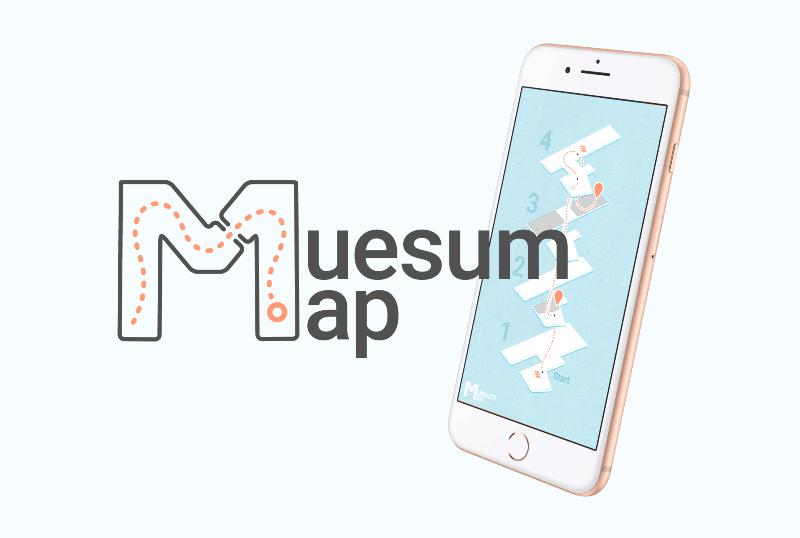 Museum Map Mobile App Demo Video