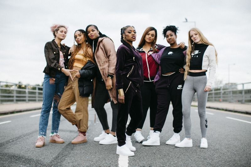Lady Leshurr Queen Speech 7 x Nike