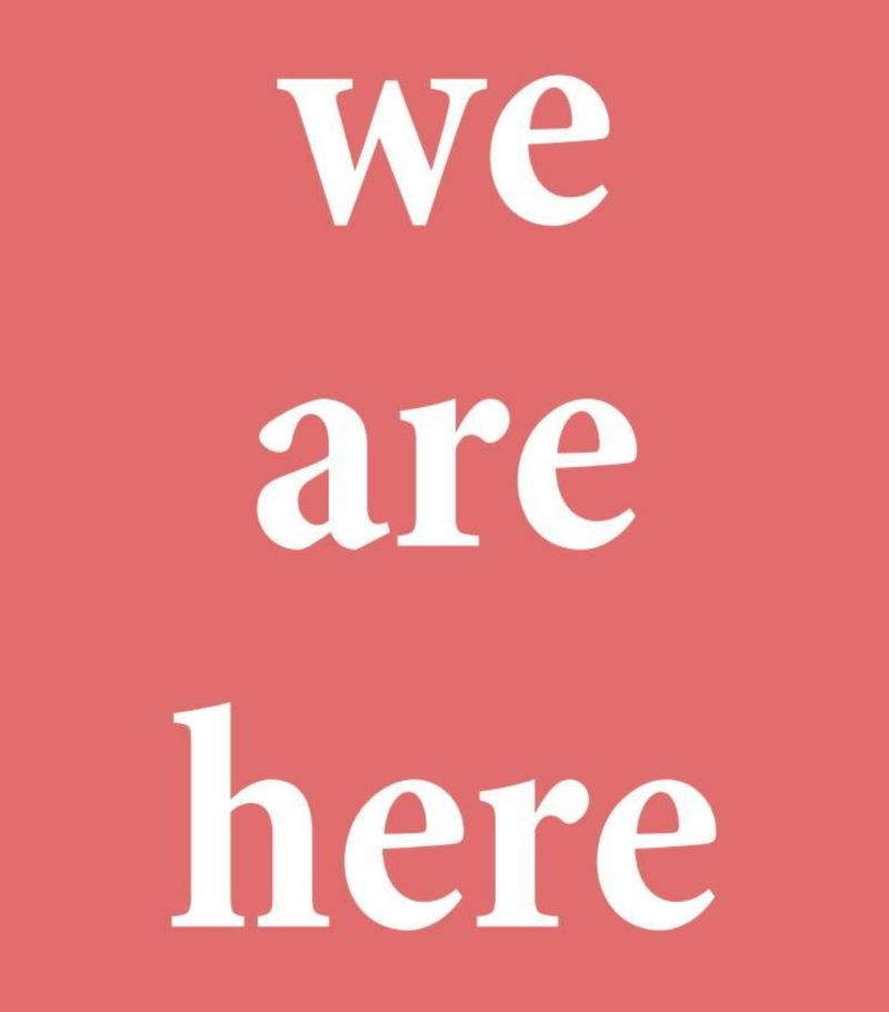 'We Are Here' New Designers, Curation & Display Design
