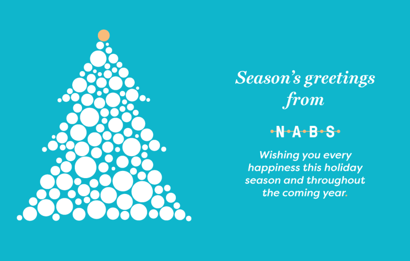Festive wishes from the NABS team