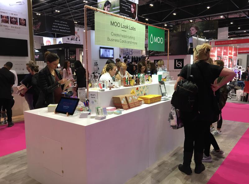 MOO Look Labs - Salon International London 2016